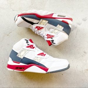 ▪️Nike▪️Air Trainer SC High White Magnet Grey Red